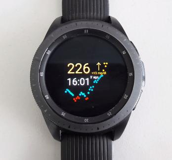 Dexcom G6 auf Samsung Galaxy Watch (Tizen OS) - Technik / Software